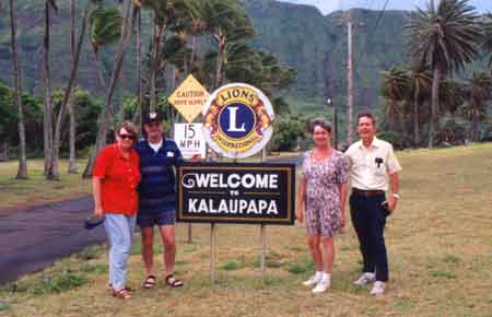 Hello from Kalaupapa