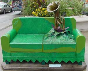 tuba couch